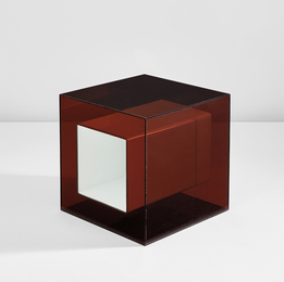"Rare ""Plexiglas Cube"""