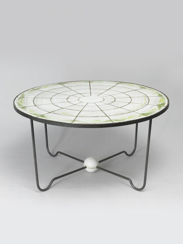 Artsy Coffee Tables Denise Gatard Circular Coffee Table 1950 Artsy