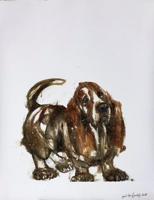 Guranda Klibadze, 'Basset Hound', 2018, Baia Gallery