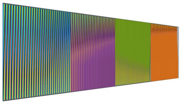 , 'Physichromie Panam 259,' 2015, Sicardi Gallery