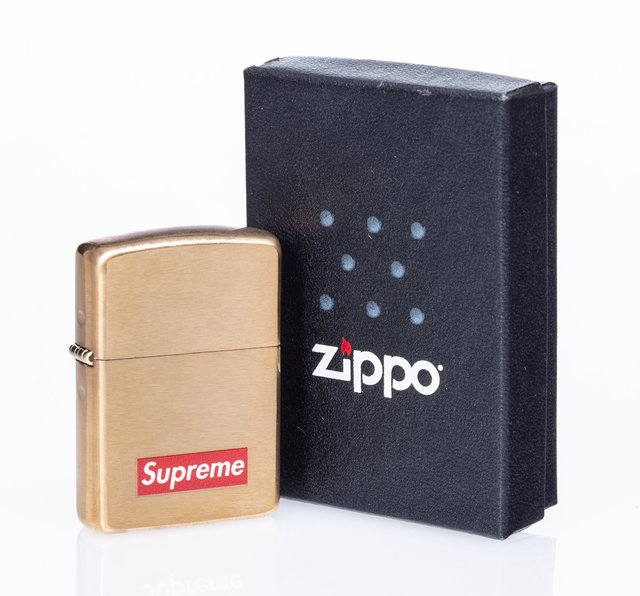 Supreme X Zippo, 'Lighter (Gold)', 2011, Heritage Auctions