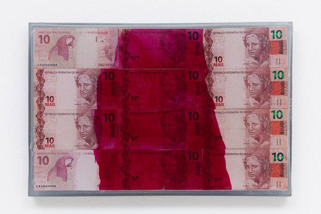 , '10 (da série Dinheiro Pintado),' 2015, Zipper Galeria