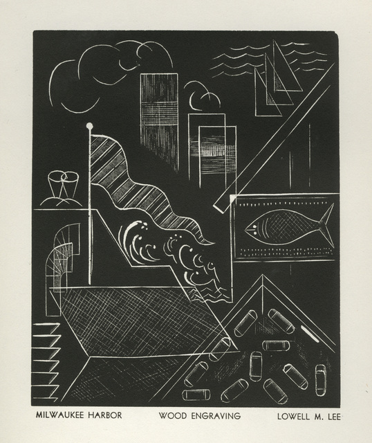 Lowell Merrit Lee, 'Milwaukee Harbor', 1936, David Barnett Gallery