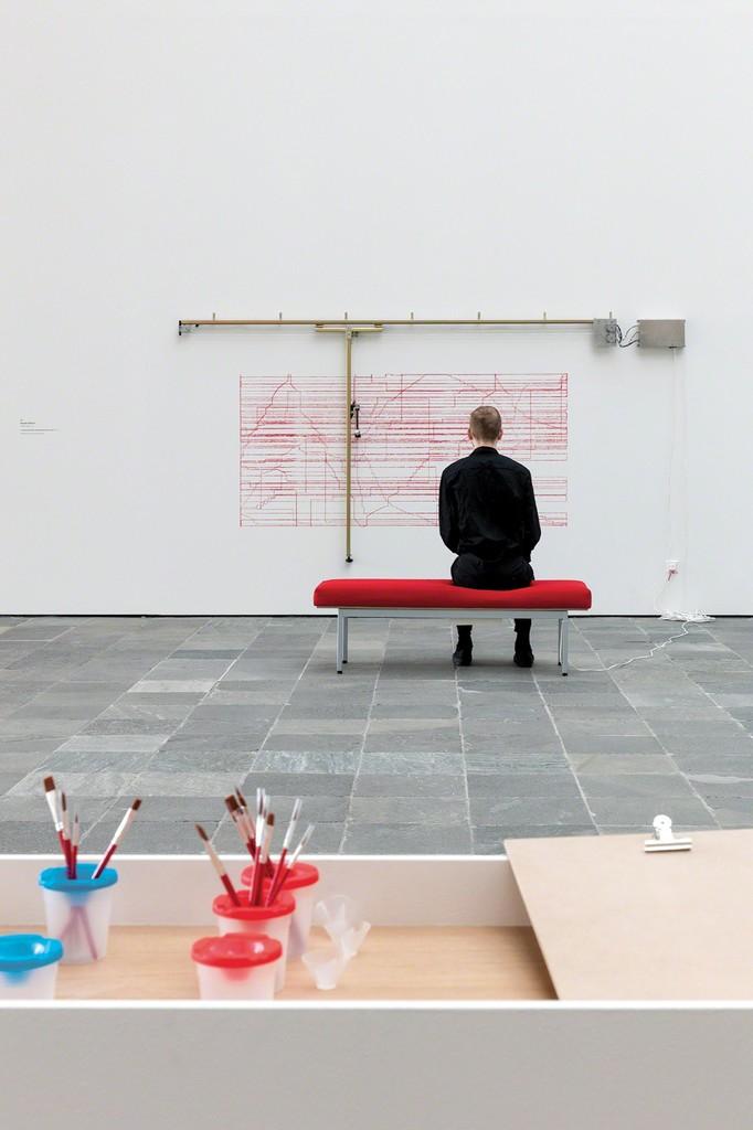 Angela Bulloch Courtesy Städtische Galerie Wolfsburg; Photo: Johannes Stoll, © Belvedere, Vienna, 2017
