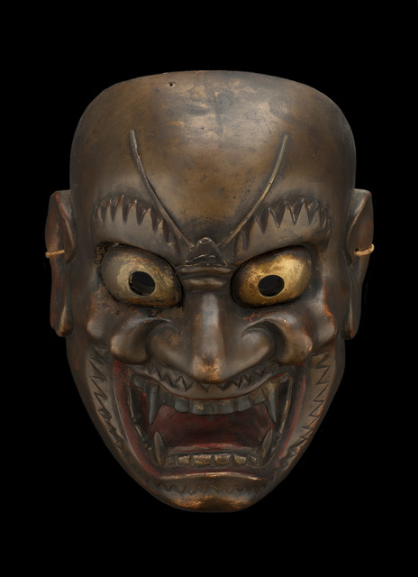Unknown Artist, 'Japanese Shrine Mask, Demon', 19th C., Cavin-Morris Gallery
