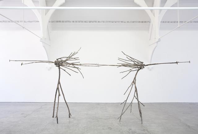 Giuseppe Penone, 'Pelle di Foglie - sguardo incrociato,' 2005, Gagosian