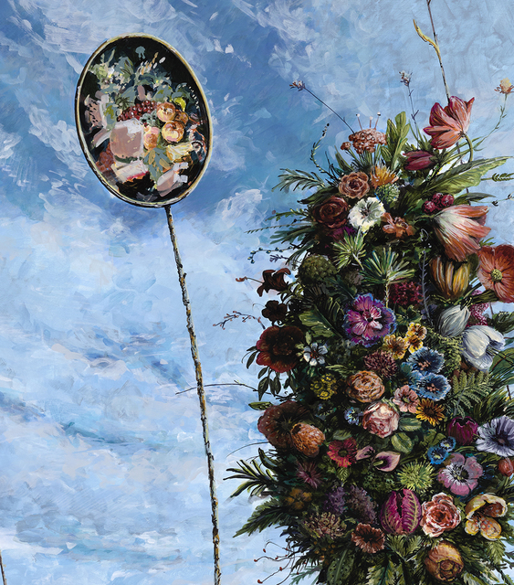 Ethan Murrow, 'The Cultivar', 2021, Painting, High flow acrylic on mounted board, Winston Wächter Fine Art