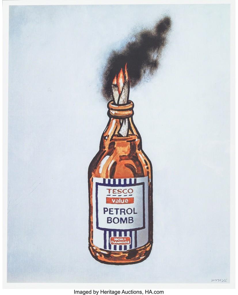 Tesco Value Petrol Bomb, poster
