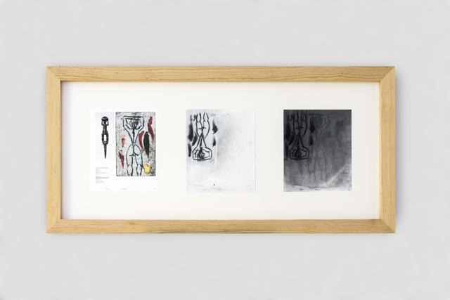 , 'Ejercicio de copia, falsificación y restauración II,' 2018, Galería Hilario Galguera