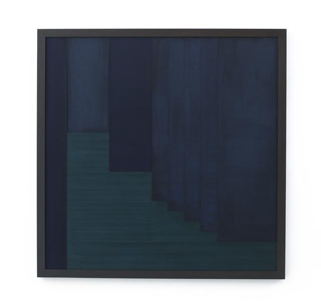 , 'Sintropic Maze - series I (Corner 3) - Blue,' 2016, Zipper Galeria