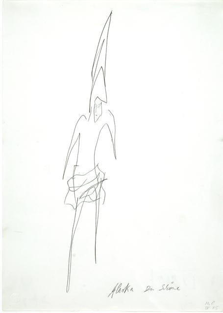 , 'Alaska Du Schöne,' 1975, Galerie Krinzinger