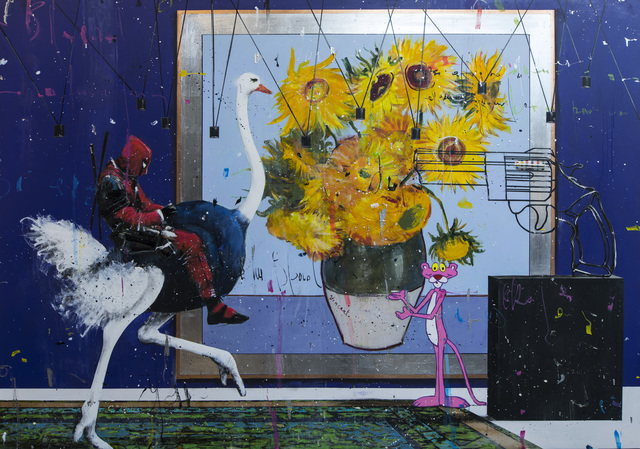 Angelo Accardi, 'Deadpool Attack', 2019, Eden Fine Art