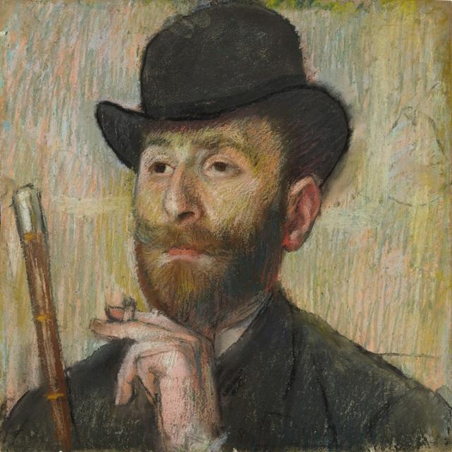 Edgar Degas, 'Portrait of Zacharian', ca. 1885, Legion of Honor