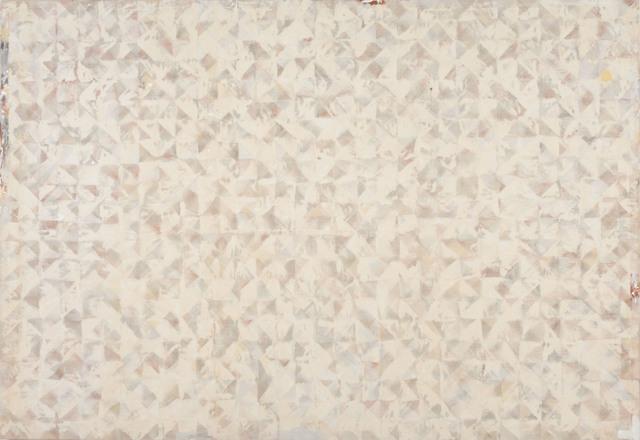 , 'thorough white,' 1978, Tile Blush
