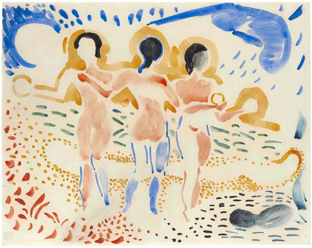 André Derain, 'Les trois Grâces', ca. 1906, Stoppenbach & Delestre