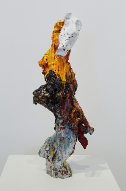 , 'PushMoon2, 3 White Mask,' 2015, James Harris Gallery