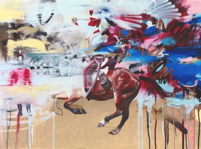Conor Harrington, 'Tales of Blood and Slaughter', 2011, On The Wall
