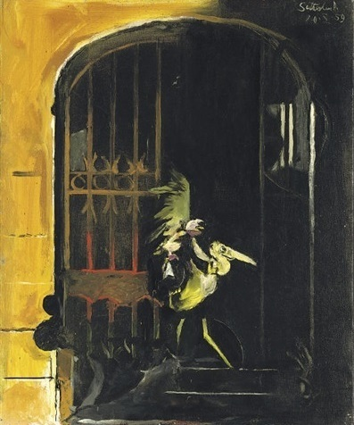 , 'Dark Entrance No.1,' 1959, Osborne Samuel