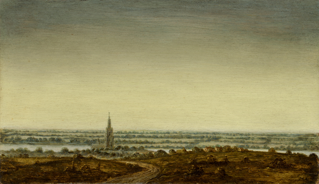, 'Panoramic Landscape with a Town on a River,' 1625-1630, Rijksmuseum