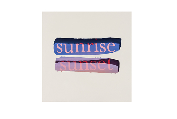 , 'Sunrise Sunset,' 2014, Sullivan+Strumpf