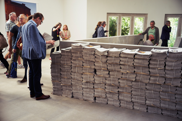 , 'The Citizen (Installation view),' 2015, 56th Venice Biennale