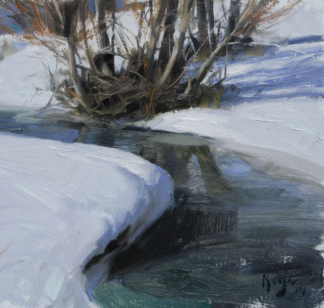 , 'Thawing Stream,' 2014, Gallery 1261