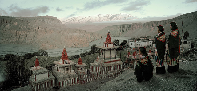 , 'XII 166 Tsering Yangzom, Tachung & Tsering Wangmo Tangge Village, Upper Mustang Nepal - Mustang, Nepal,' 2011, Willas Contemporary
