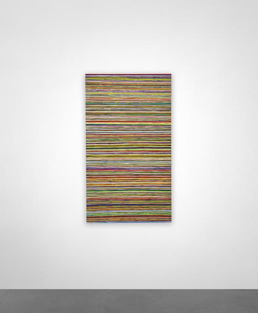 , 'LINESHAITIANYELLOW,' 2015, KM Fine Arts