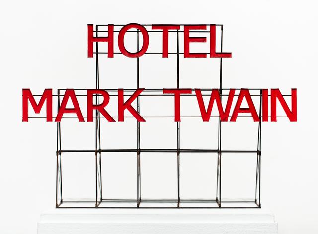 Drew Leshko, 'Hotel Mark Twain Sign', 2019, Paradigm Gallery + Studio