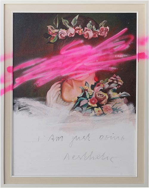 , 'I am just doing Aesthetic No. 10,' 2015, Element Art Space