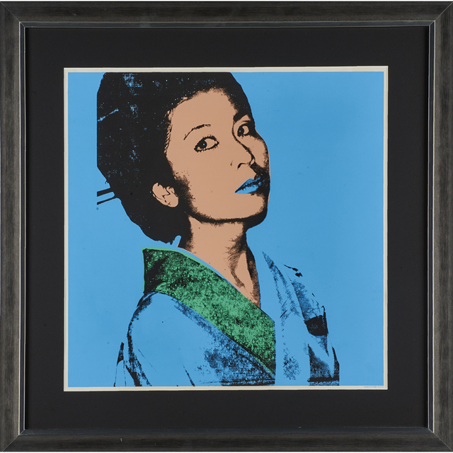 Andy Warhol, 'Kimiko poster for the exhibition at Colorado State University, Sept. 1-25', 1981, Rago