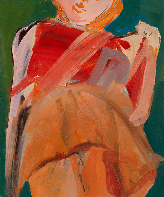 , 'Orange Skirt,' 2017, Arusha Gallery