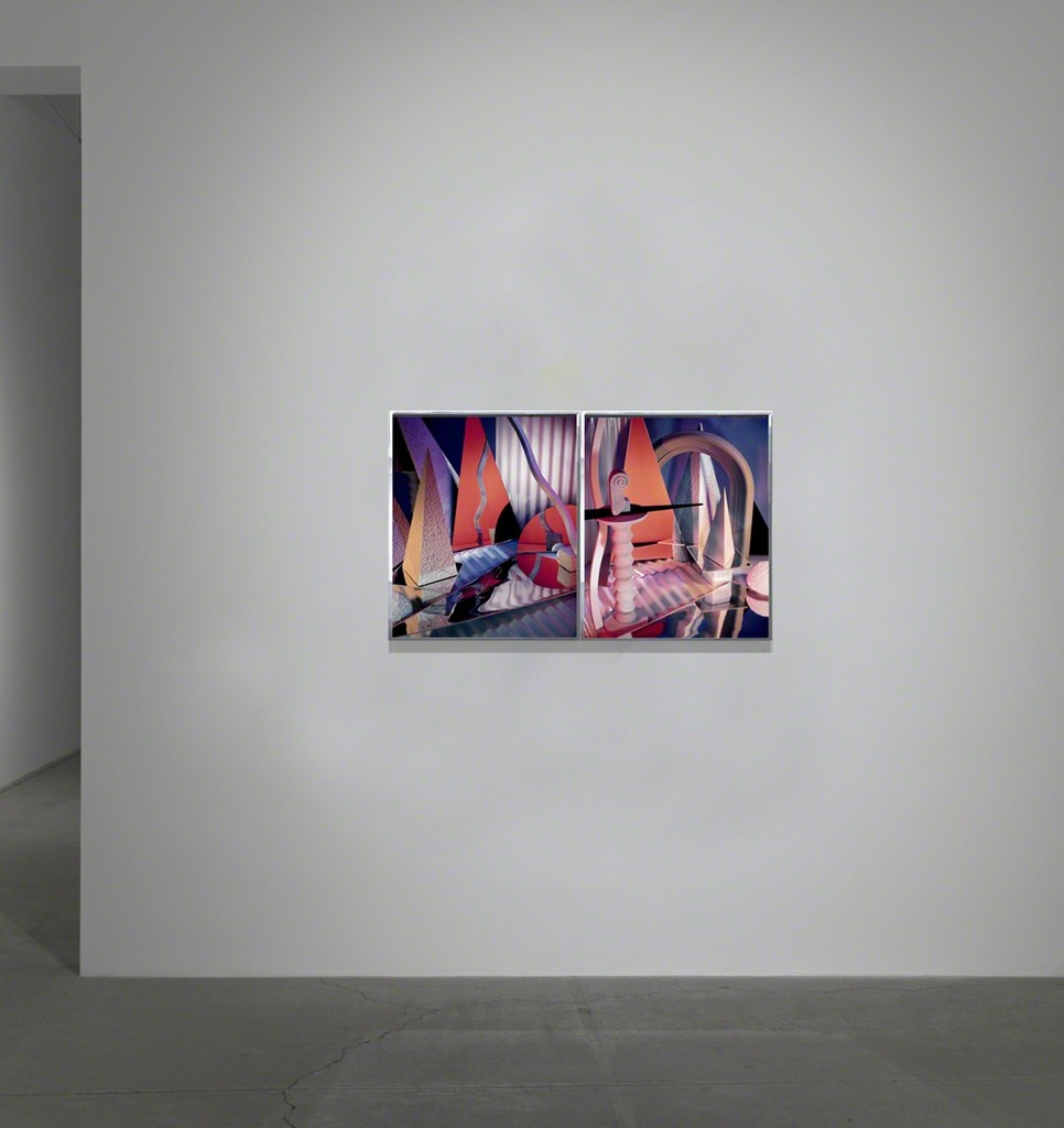 "installation view ""Diptych II 84 (XXX and XXIX), 1984"""