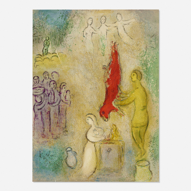 Marc Chagall, 'Le sacrifice aux nymphes (from Daphnis et Chloe)', 1961, Rago/Wright