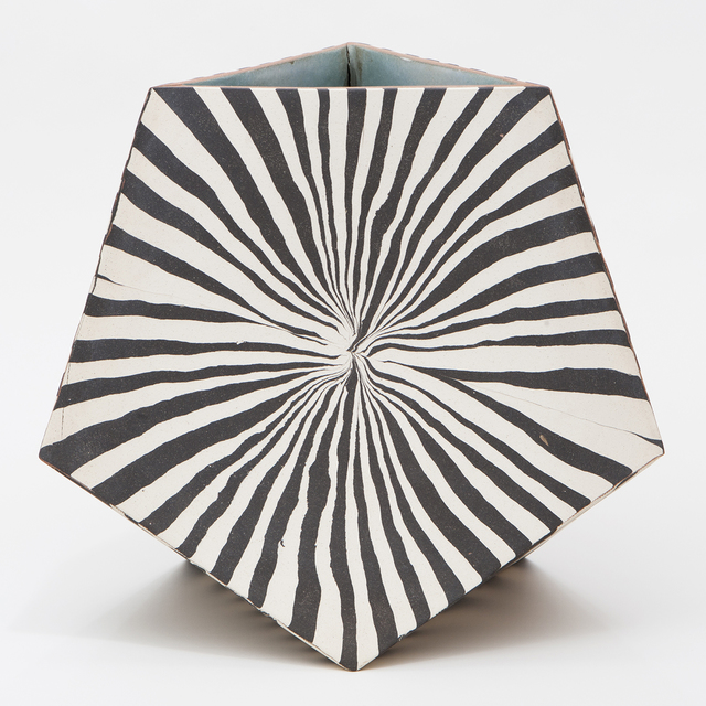 , 'Pentagon Facet Vessel III,' 2015, Patrick Parrish Gallery