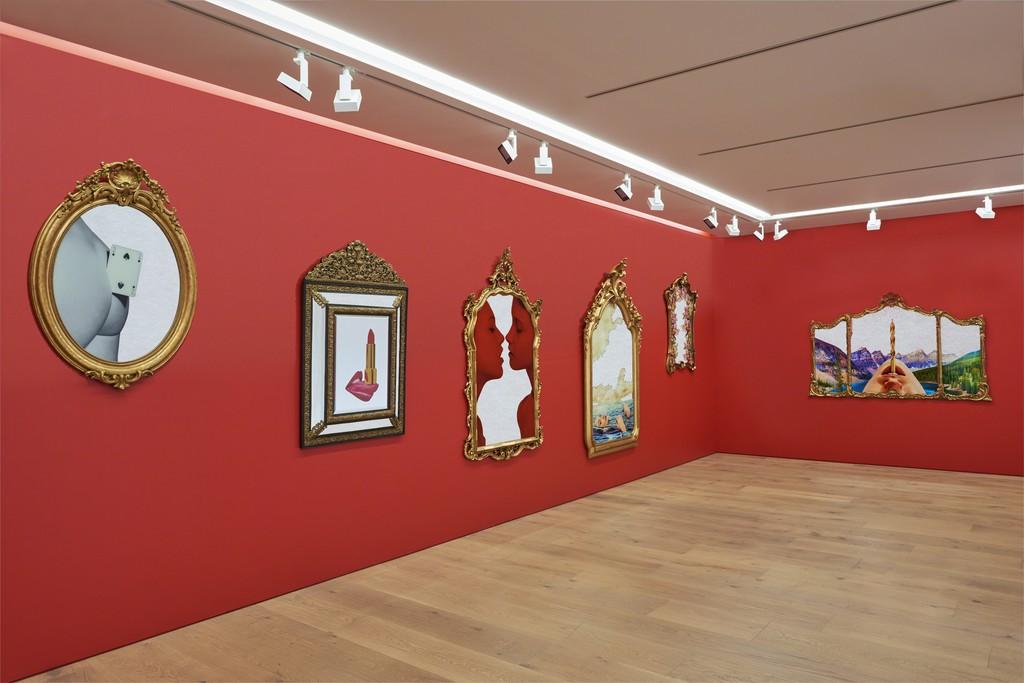 exhibition views: Masahiro Miramatsu © TOILETPAPER Courtesy Perrotin