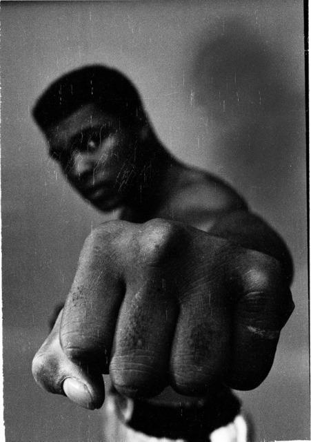 , 'Ali's left fist,' 1966, Galeria de Babel