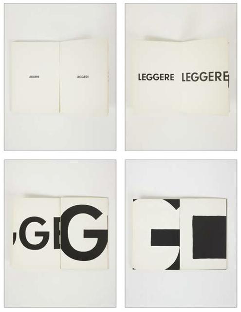 , 'Leggere | Torino, Sperone,' 1972, G.Maffei - G.Galimberti