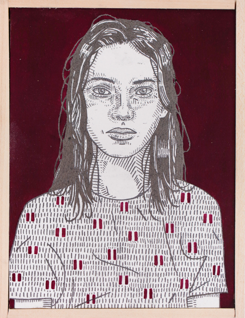 , 'she (burgundy),' 2016, Paradigm Gallery + Studio