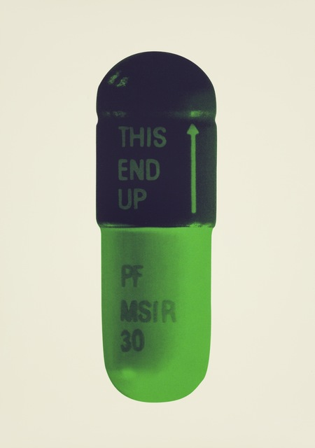 , 'The Cure - Cream/Aubergine/Pea Green,' 2014, Paul Stolper Gallery