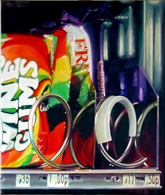 Cynthia Poole, 'Wine Gums', Painting, Acrylic on canvas, Plus One Gallery
