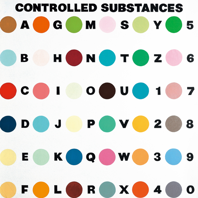 Damien Hirst, 'Controlled Substances Key Painting', 1994, Seoul Auction