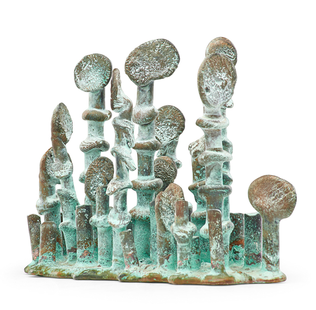 Klaus Ihlenfeld, 'Aquatic Landscape, Berks County, PA', 2010s, Sculpture, Oxidized phosphor bronze, Rago/Wright