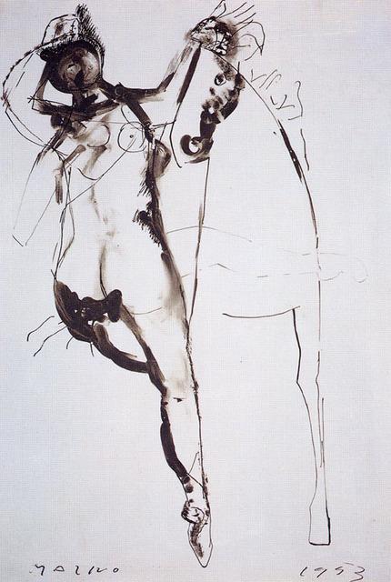 , 'Cavallo e cavaliere (Horse and rider),' 1953, Studio Guastalla