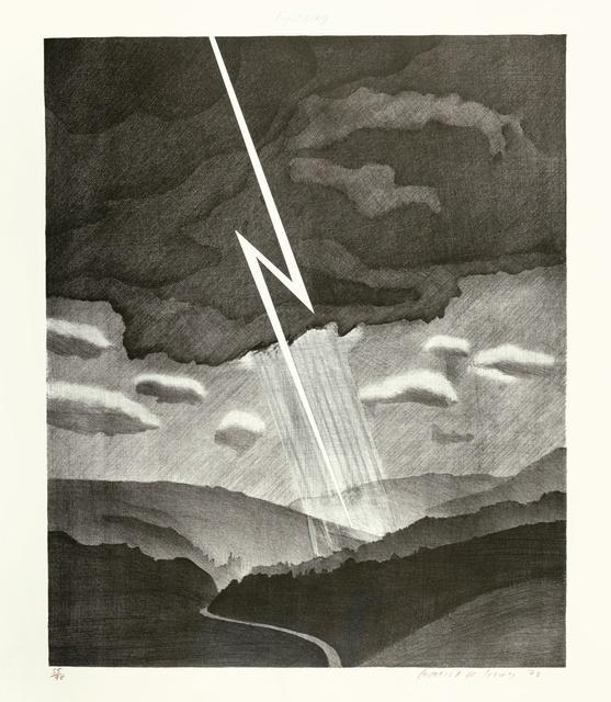 David Hockney, 'Lightning ', 1973, Stubbs Fine Art