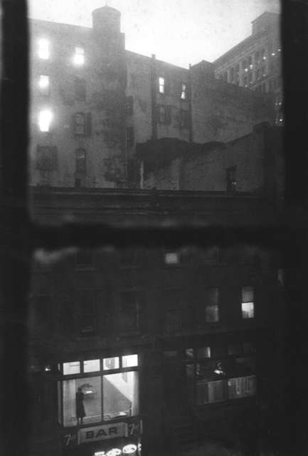 , 'Tanager Gallery, 10th Street, Lois Dodd Standing in the Window,' 1959, L. Parker Stephenson Photographs