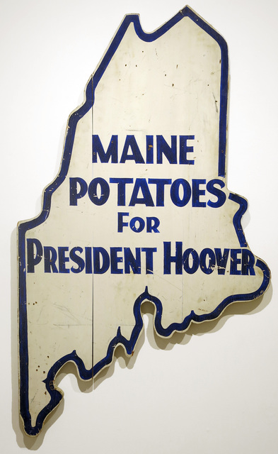 , 'Great Depression Presidential Campaign Sign,' ca. 1932, Edward Thorp Gallery