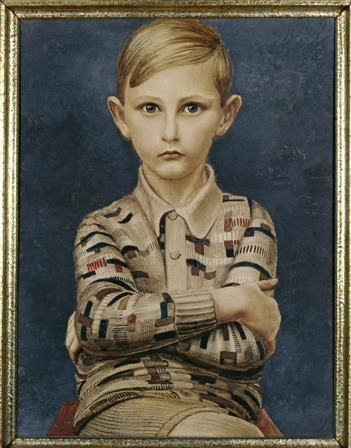 , 'Portrait of a Boy (Knabenbildnis),' 1928, Los Angeles County Museum of Art