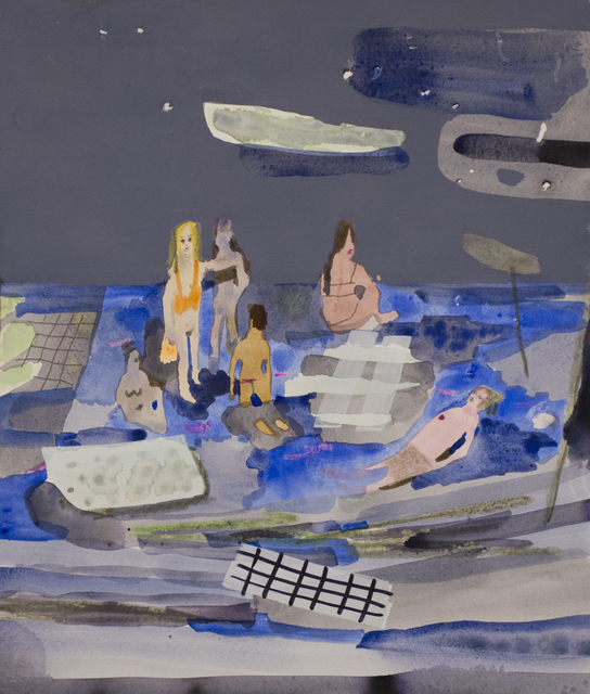 , 'Night Tide Swimmers,' 2016, Gaa Gallery