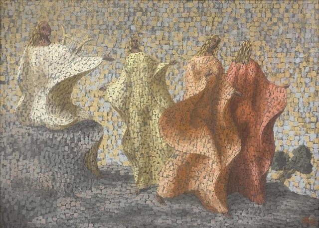 , 'Bacchanale,' 1944, Piano Nobile